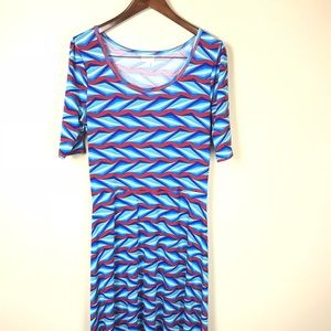 Lularoe Ana Dress Size XL
